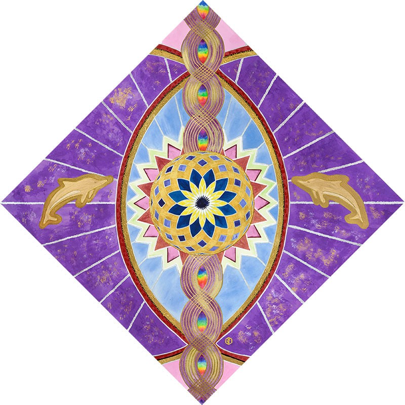 New Earth Chakra Key - Eye of Awakening