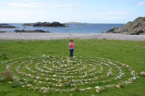 8_Labyrinth at St Columba Bay Iona