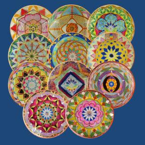 Chakra Key Healing Discs