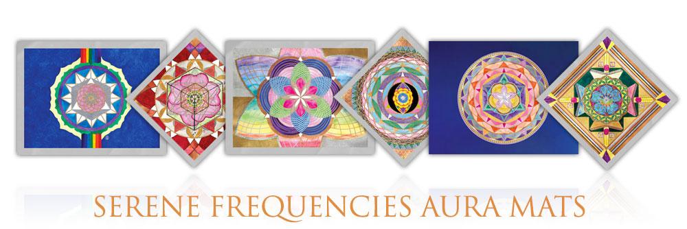 Serene Frequencies Aura Mats