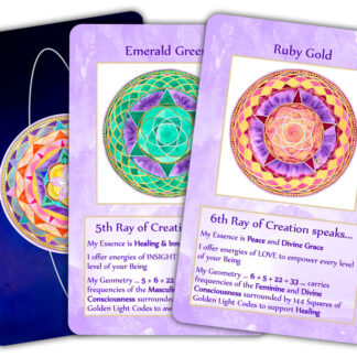 Rays of Creation Card Set