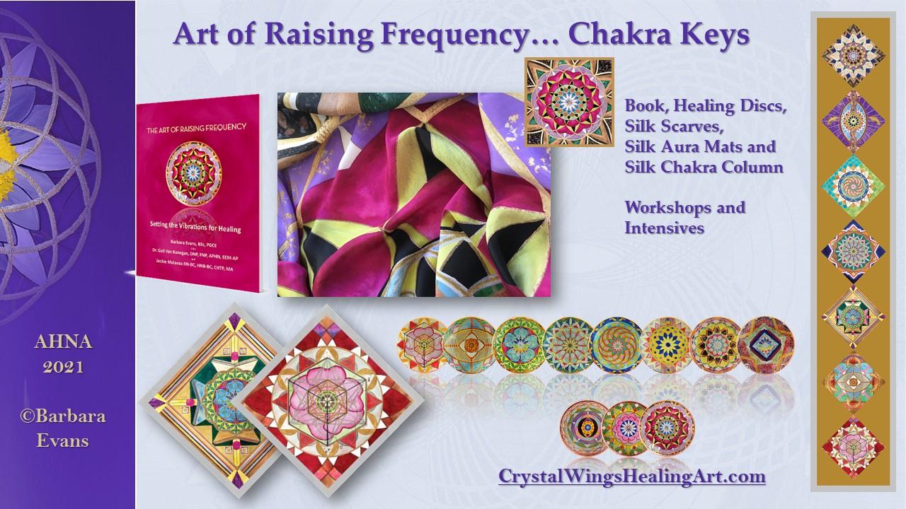 Art of Raising Frequency - Chakra Keys