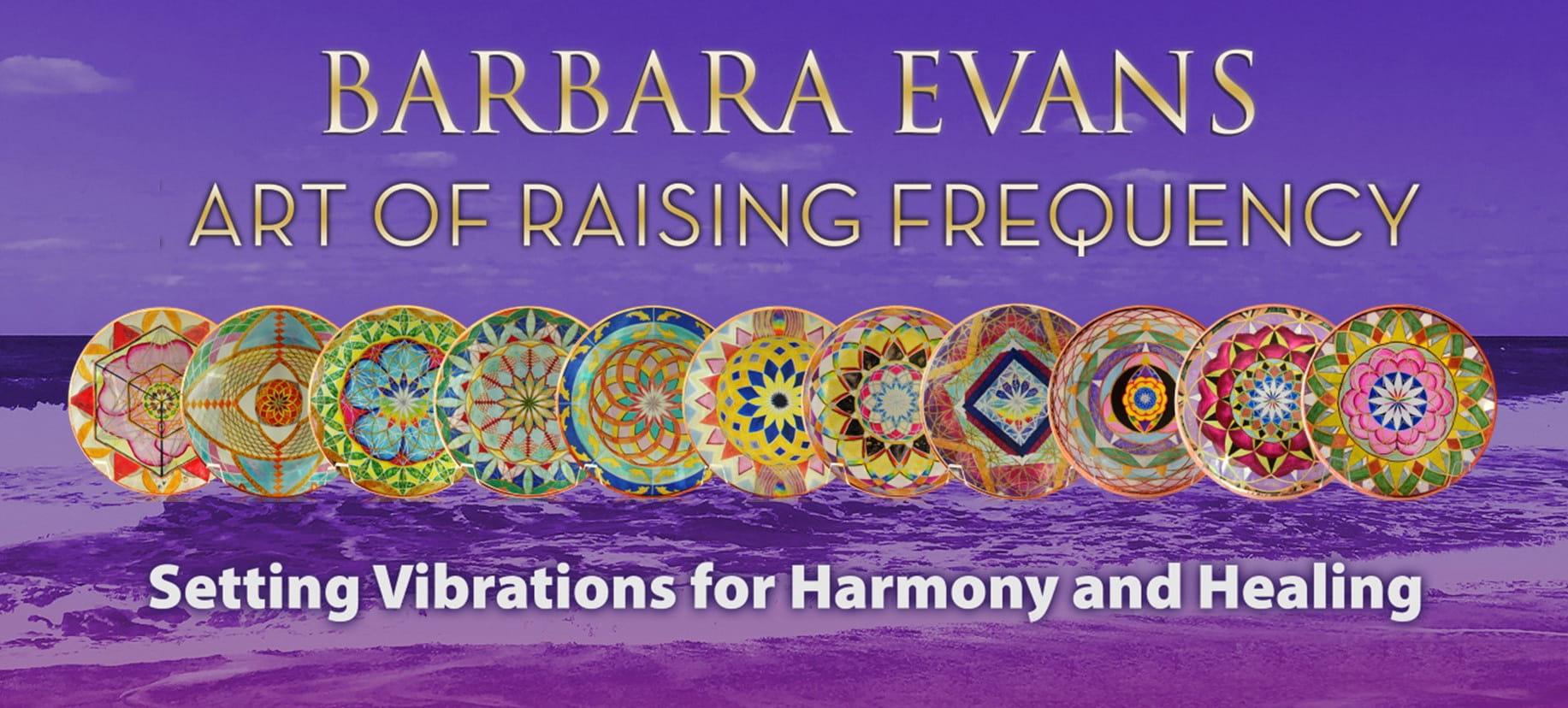 Barbara Evans - Art of Raising Frequency Banner