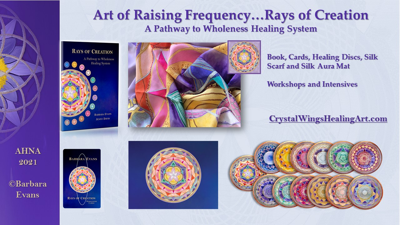 Art of Raising Frequency - Rays of Creation