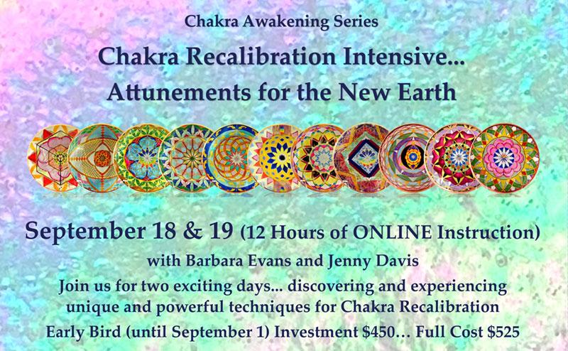 Chakra Recalibration Intestive